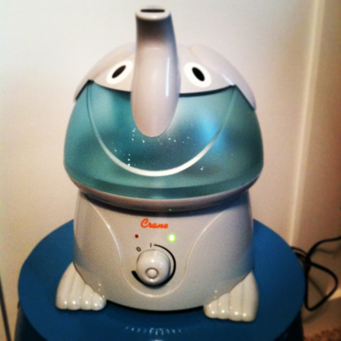our new humidifier i could have bought any humidifier but the cute  #173E5F