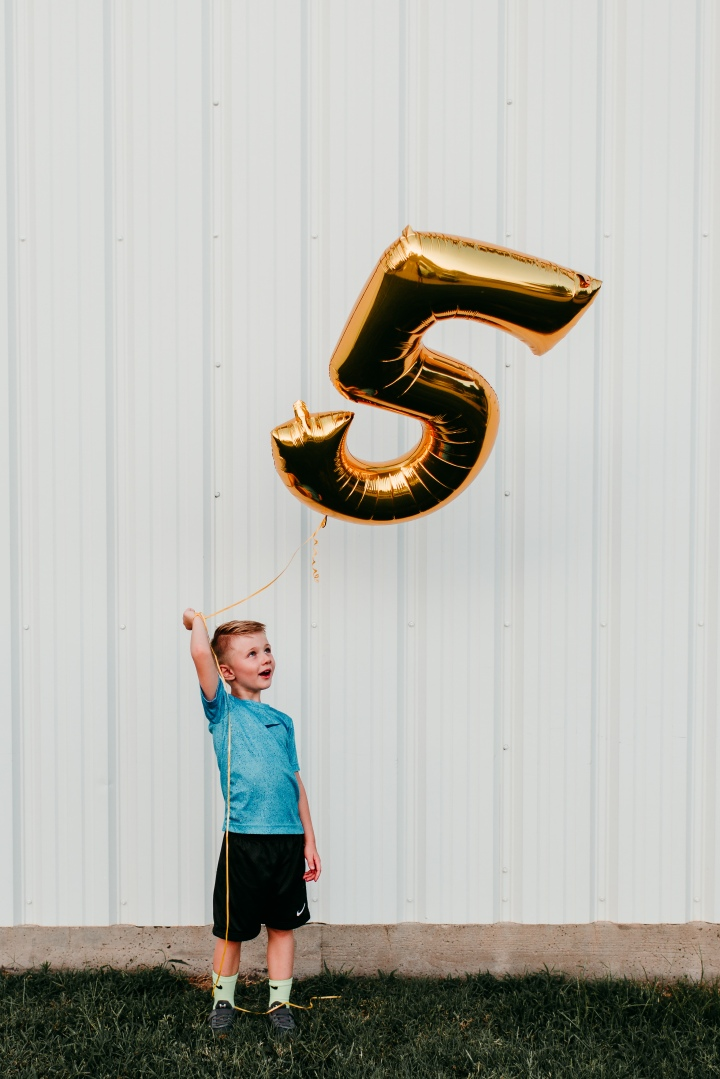 Noah is 5!